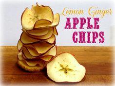 Lemon-Ginger-Apple-Chips
