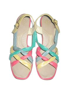 the best attitude a90b1 23805 Vintage Selby Multicolor Color Block Braided Crossover by ANVINTRO