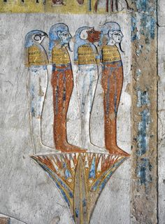 Egypt Thebes Luxor Valley of the Kings Tomb of Tausert Expanded by Setnakht… Ancient Egyptian Religion, Ancient Aliens, Ancient History, Art History, Egyptian Women, Fresco, Sons Of Horus, Egypt Museum, Egypt Art