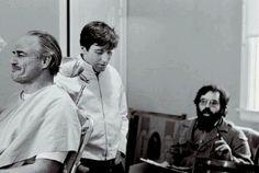 Marlon Brando, Al Pacino e Francis Ford Coppola