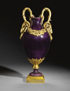 SÈVRES FROM THE BEDROOM OF KING ALFONSO XII OF SPAIN A Royal gilt-bronze-mounted…