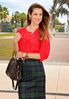 tartan-plaid-skirt