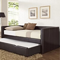 Standard Furniture Lindsey Daybed with Trundle & Reviews | Wayfair