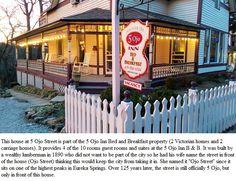 5 Ojo Inn Bed and Breakfast, Eureka Springs, Arkansas