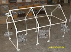 pvc pipe car cover | So what can you do with all these PVC parts? & PVC Canopy tent Frame Plan | TENT FRAME ANGLE JOINT KITS u2013 Wall ...