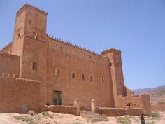 Taliouine, caiptale du Safran.    Taliouine, capital del Azafran. Souss-Massa-Drâa - Morocco.  © S.N