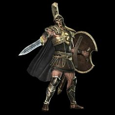 Achilles - the greatest warrior in Homer's The Iliad.