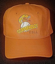 sports shoes aed08 89889 Southern Ohio Copperheads Baseball Cap Hat New Era Fitted Size M L  NewEra