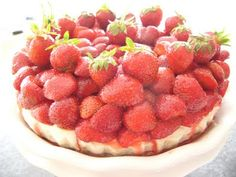 Vegan Strawberry Cheesecake (Thermomix)