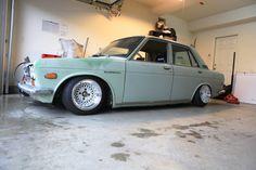 Datsun 510. My first car was a '69 Datsun 510