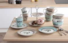 Set cani My Cup of Coffee, Flirt, 320 ml, 3 piese I Cup, Bar, Flirting, Coffee Cups, Tableware, Kitchen, Cocktail, Decoration, Medium