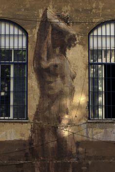 Borondo, Rome, italy