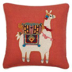 Buy John Lewis Llama Cushion, Multi Online at johnlewis.com