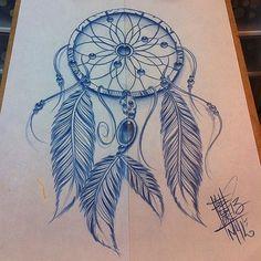 attrape rêve tatouage - Lilo