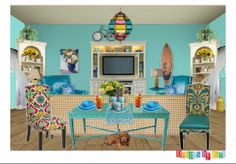 Check out this moodboard created on @Cheryl Brogan: beach bungalow by carimurphy