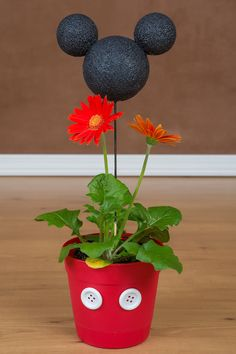 WDW Magazine | Bring the Magic Home Mickey Mouse Flower Pot