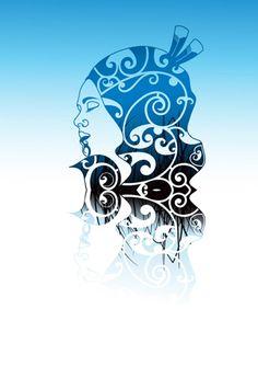 Bronwyn Waipuka Kura Gallery Maori Art Design New Zealand Mana Wahine Series Framed Digital Print Featured Artist