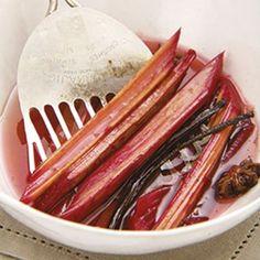 Rhubarb.  www.rooirose.co.za #FoodPantry Grill Pan, Pantry, Grilling, Tableware, Kitchen, Food, Griddle Pan, Pantry Room, Butler Pantry