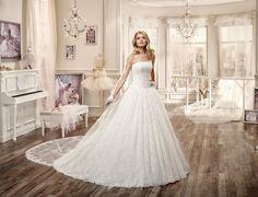 Moda sposa 2016 - Collezione NICOLE.  NIAB16106. Abito da sposa Nicole.