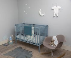#kids #toddler #bedroom #blue #bed #goodnight #cute