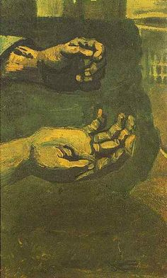 Two Hands | Vincent Van Gogh | oil painting
