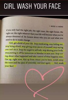 One of the best books I've ever read! Girl Wash Your Face by Rachel Hollis True Quotes, Book Quotes, Great Quotes, Words Quotes, Motivational Quotes, Inspirational Quotes, Sayings, Qoutes, Oprah Quotes