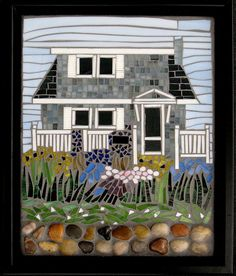Mosaic House by Megan Cain Mosaics, via Flickr