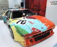 Hong Kong: Andy Warhol BMW on Display at International Air Fair