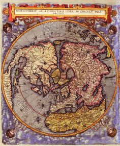 World Map 16th Century World maps of the Northern hemisphere, published in 1593 by the Dutch cartographer and engraver Gerard de Jode.