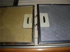 Как легко почистить жировой фильтр от вытяжки?