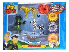 The Official PBS KIDS Shop | Wild Kratts Creature Power 4 Pack - Runners Set