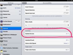How to Use Guided Access on iPad, iPod and iPhone Computer Internet, Computer Lab, Invert Colors, Middle School Classroom, High School, So Little Time, Classroom Management, Being Used, Education