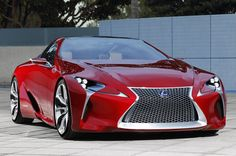 Lexus LF-LC Concept . I think I need to work more !!! Lol