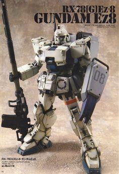 GUNDAM GUY: MG 1/100 Ez8 Gundam - Customized Build