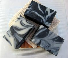 Organic Handmade Soap Activated Charcoal and Tea Tree Vegan-Cold Process Soap. $7.00, via Etsy.