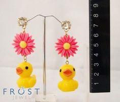 Rubber Duckies earrings