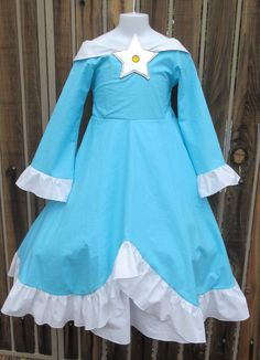 Princess Rosalina Costume For Kids A Princess Rosalina dr...