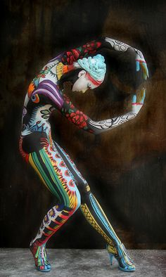 World Bodypainting Festival DVD 2011 by Ciucciapunti, via Flickr.