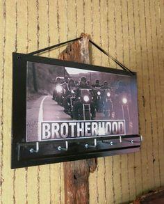 Wall Key Holders Harley Davidson Key Rack by NchantedGifts on Etsy