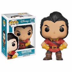 Gaston Funko Pop Vinyl figure from Disney classic Beauty and the Beast Brought to you by Pop In A Box, the site Funko Pop! Vinyl shop