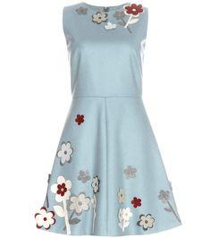 mytheresa.com - Appliqué-embellished dress - Luxury Fashion for Women / Designer clothing, shoes, bags