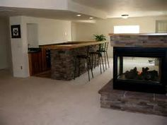 Depiction of Presenting Awesome Decoration In Basement Wet Bar
