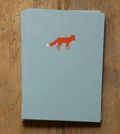 Fox Notebook - Pack of 3 by Little Alexander  on Scoutmob Shoppe