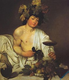 Caravaggio, Bacchus (1596) Art Experience NYC www.artexperiencenyc.com/social_login/?utm_source=pinterest_medium=pins_content=pinterest_pins_campaign=pinterest_initial
