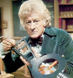 Jon Pertwee, hands down my favorite Doctor. Equal parts Dandy and Curmudgeon.