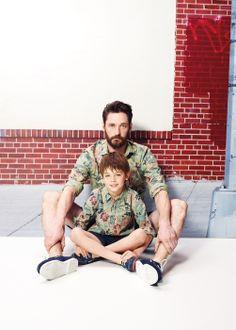Tropical print shirt #Kids #MiniMe #SS14