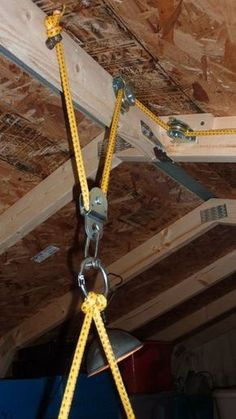 Rigging The Lifting Portion: