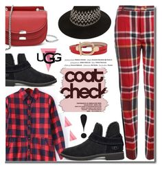 """The New Classics With UGG: Contest Entry"" by wannanna ❤ liked on Polyvore featuring Vivienne Westwood Red Label, UGG, Vision and ugg"