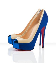 Louboutin...One word, so much drool.  Love the metallic on the toe!