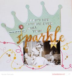 #papercrafting #scrapbook #layout -  Scrapbooking Kits, Paper & Supplies, Ideas & More at StudioCalico.com!